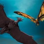 S.h MonsterArts Mothra & Rodan (Godzilla II)