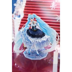 1/7 Character Vocal Series 01 Hatsune Miku: Snow Miku Snow Princess Ver. PVC