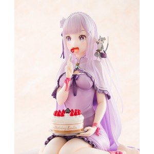 1/7 Re:ZERO -Starting Life in Another World-: Emilia Birthday Cake Ver. PVC