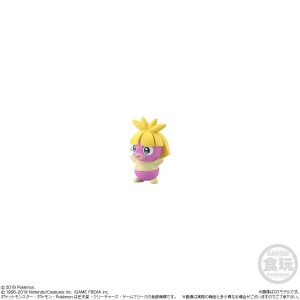 Pokemon Scale World Johto Region Kotone & Bay Leaf & Natu & Smoochum