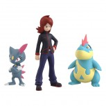 Pokemon Scale World Johto Region Silver & Alligator & Neura