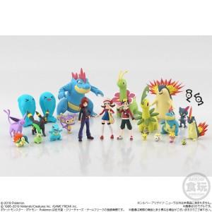Pokemon Scale World Johto Region Silver & Alligator & Neura