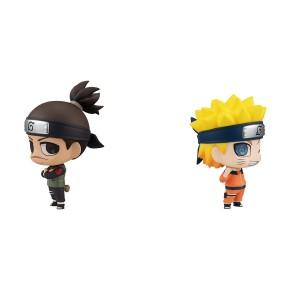 Chimi Mega Buddy Series! Naruto: Iruka Umino & Naruto Uzumaki Set