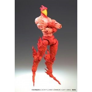 Super Action Statue: Magician's Red (JoJo's Bizarre Adventure Part 3) (Reissue)