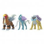 Pokemon Scale World Johto Region Raikou & Entei & Suicune