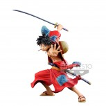 ONE PIECE BANPRESTO WORLD FIGURE COLOSSEUM3 SUPER MASTER STARS PIECE THE MONKEY.D.LUFFY (40cm)