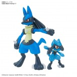 Pokemon Plamo Collection No.44 Select Series Riolu & Lucario
