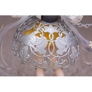 1/7 National Treasure: Silver Sachet with Grape Flower and Bird Pattern PVC