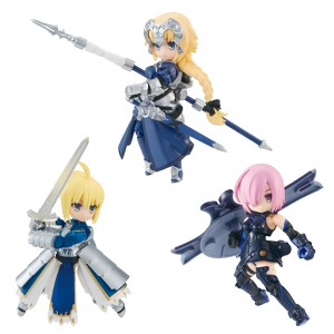 [BACKORDER] DESKTOP ARMY Fate/Grand Order Vol.1  Masch/Altria/Jeanne (3pcs/box)