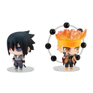 [BACKORDER] CHIMIMEGA BUDDY SERIES - Naruto & Sasuke (Reissue)