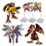 SHODO Digimon Vol.1 Complete Set with bonus stand