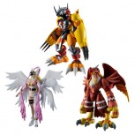 SHODO Digimon Vol.1 Set