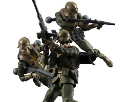 G.M.G. Mobile Suit Gundam Principality of Zeon Army Soldier Set (with bonus)