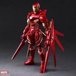 Marvel Universe Variant Bring Arts Designed By Tetsuya Nomura Iron Man