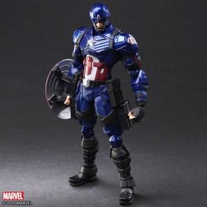 Marvel Universe Variant Bring Arts Designed By Tetsuya Nomura Captain America
