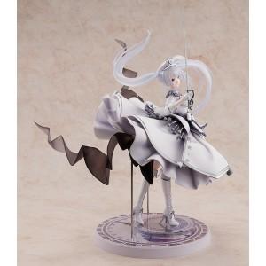 1/7 Date A Bullet Light Novel: White Queen PVC [FREE KCX Exclusive Keychain 附送KCX限定钥匙扣 ]