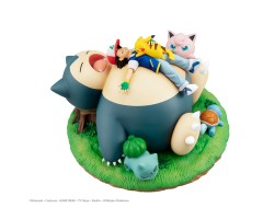 G.E.M. Series Pokemon - A nap with Snorlax [FREE KCX Exclusive Keychain 附送KCX限定钥匙扣 ]