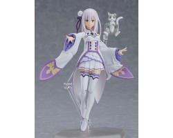 figma Emilia (Re:ZERO -Starting Life in Another World-) (Reissue) [FREE KCX Exclusive Keychain 附送KCX限定钥匙扣 ]
