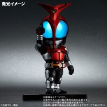 DefoReal Kamen Rider Kabuto [FREE KCX Exclusive Keychain 附送KCX限定钥匙扣 ]