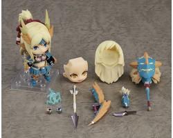 Nendoroid Hunter: Female Zinogre Alpha Armor Ver. DX (MONSTER HUNTER WORLD: ICEBORNE)