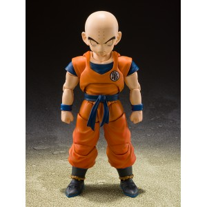 (LUCKY DRAW) S.H.Figuarts Dragon Ball SHF Krillin-The Strongest Man on Earth-